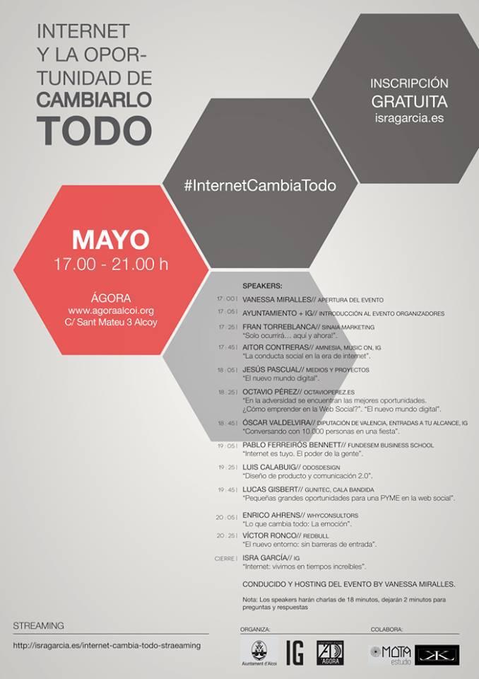 INTERNET Y CAMBIO ALARGADA
